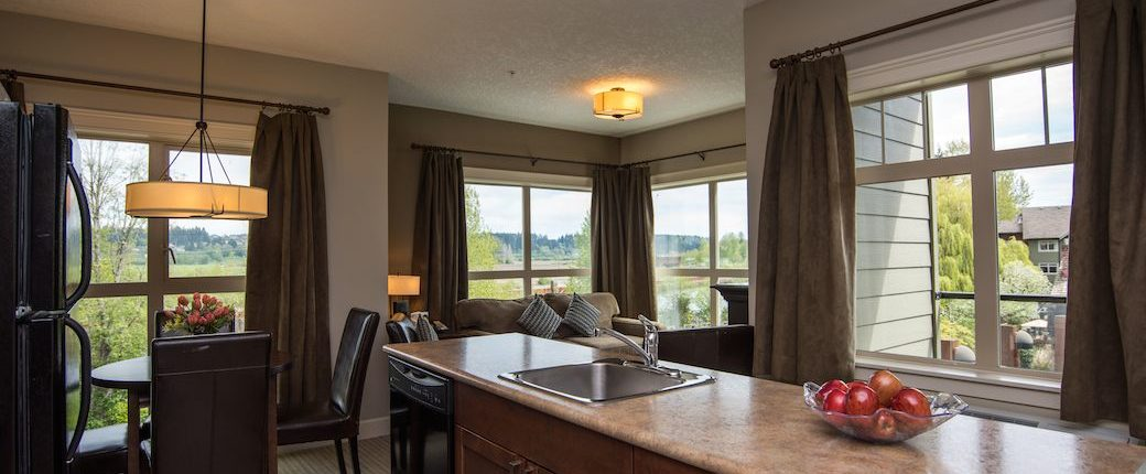 Two Bedroom Hotel Suite Courtenay BC